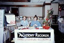 Academy Records booth